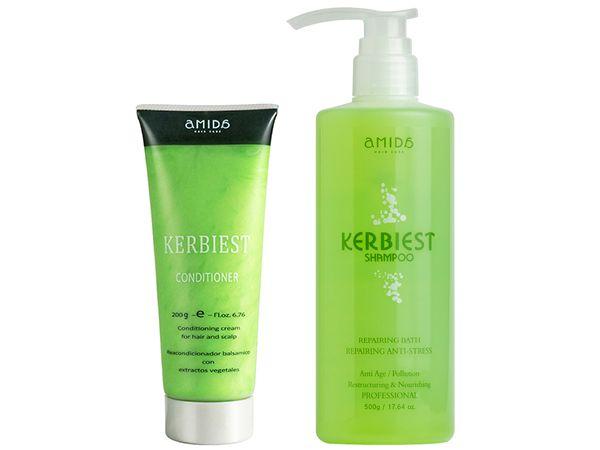 Amida~葉綠素超值組(洗髮精500g+護髮調理素200ml)【D190208】