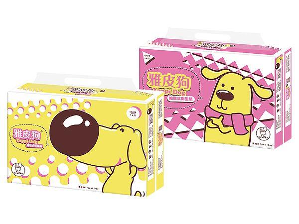 雅皮狗~抽取式衛生紙(100抽x14包x6袋) 隨機出貨【D667002】※限宅配/無貨到付款