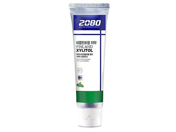 韓國 2080~100%芬蘭木糖醇蘋果薄荷味牙膏(100g)【DS000156】