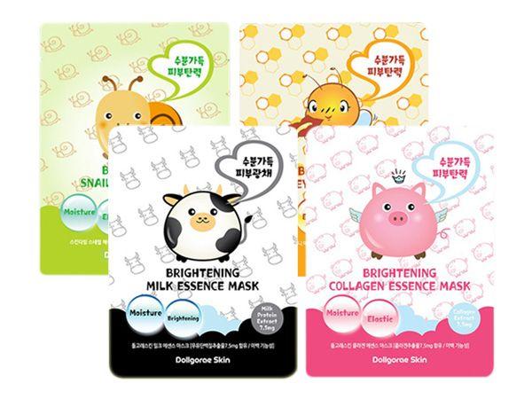 韓國 Dollgorae Skin~淨白保濕緊緻面膜(單片26ml) 款式可選【DS000238】