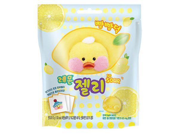 韓國 FANFANDUCK~軟糖(檸檬口味)50g【DS000358】
