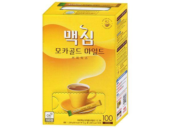韓國 Maxim~摩卡三合一咖啡隨身包(12g×100入/盒)【DS002362】