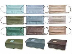 天心~成人平面醫療用口罩(3款x10片入)莫蘭迪系列款式可選MD雙鋼印